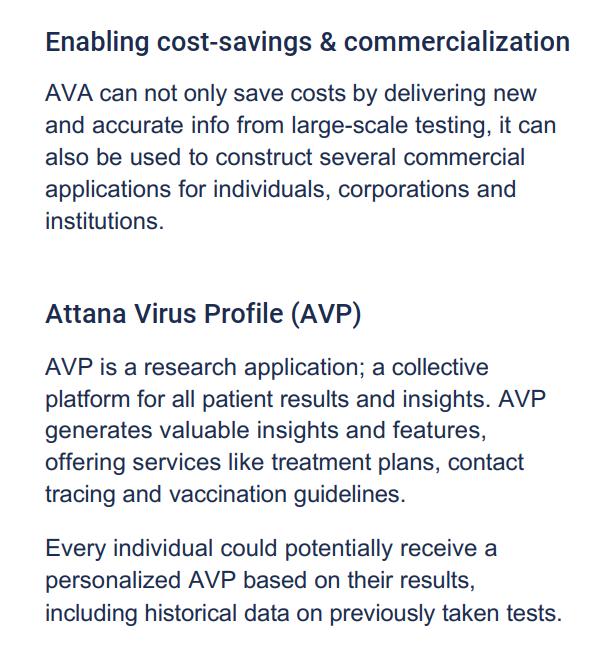 New AVA profile text